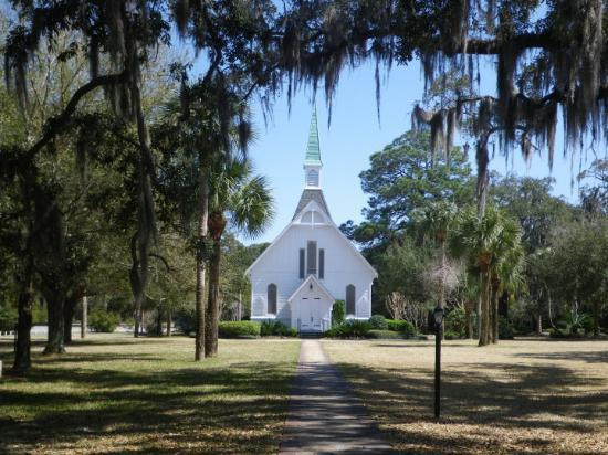 ‪إبوورث باي ذا سي: Lovely Lane Church, Epworth-by-the-Sea, St. Simons Island, GA‬