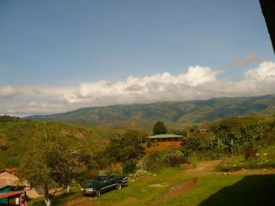 Cali, Colombia: view from the ranch house we rented