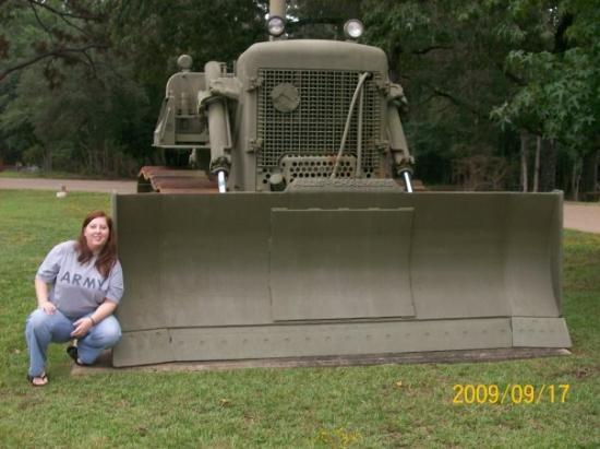 Fort Polk, LA: wow up close and personal with military equipment