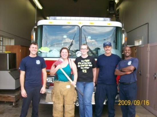 fort polk firemen and me with an ax watch out