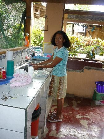 Playa Samara, Costa Rica: Mi mama tica