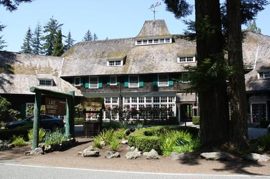 Front of Lake Quinault Lodge