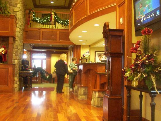The Inn at Christmas Place: check in