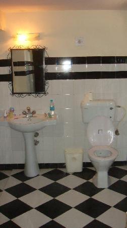 Devi Bhawan: our bathroom