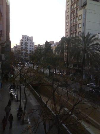 Pension Avenida : View to the left