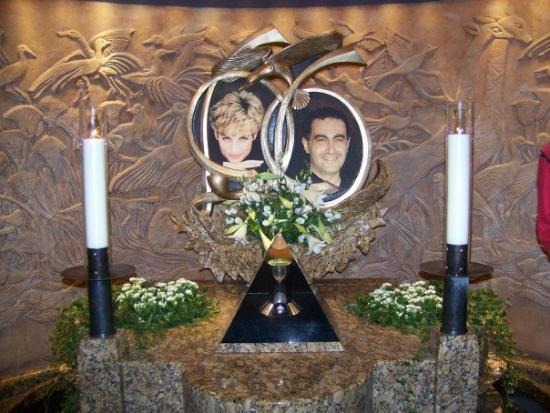 Memorial in Harrods. RIP Princess Di