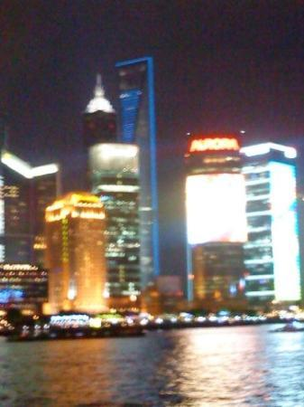 The Bund: View of Highest building in the world.