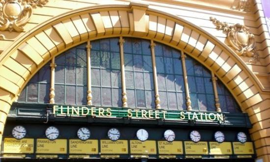 Flinders Street Station - The Clocks
