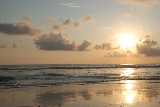 Île de Marco, Floride : Sunset at Marco Island. El atardecer en el Golfo.