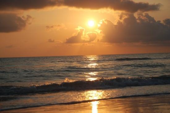 Νήσος Μάρκο, Φλόριντα: Rojo atardecer!