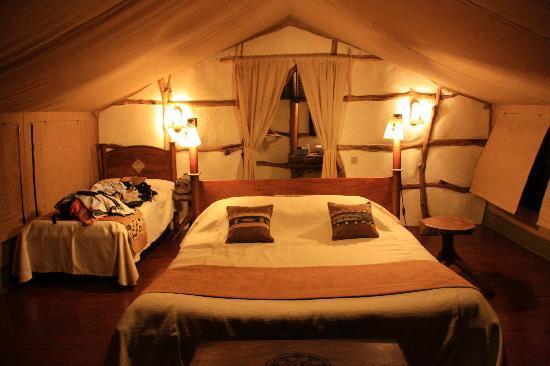 Satao Elerai: My tent