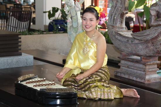 Dusit Thani Laguna Phuket: Traditional Thai Musician - Waiting to Welcome You
