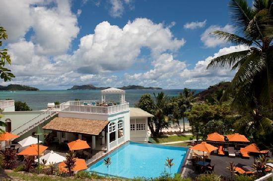 Hotel L'Archipel: Pool Deck View 2