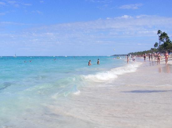 Grand Bahia Principe Bavaro: Vista de Playa Bavaro.