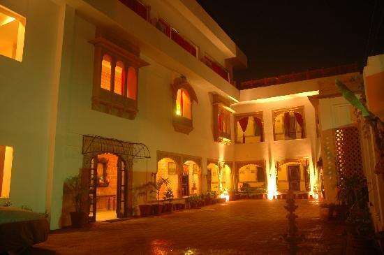 Hotel Megh Niwas: Hotel View