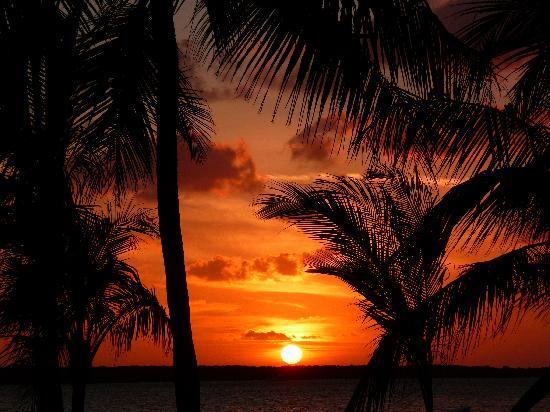 Largo Resort: Lovely sunset!