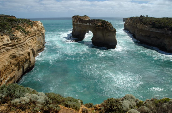 Wiktoria, Australia: Great Ocean Road: The Arch