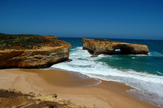 Aireys Inlet, Αυστραλία: Great Ocean Road: London Bridge