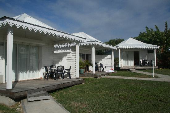 Hostellerie des Chateaux : neue Bungalows