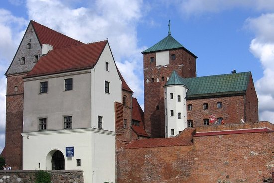 Darlowo, Polen: Darłowo - castle - general view
