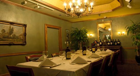 Charley S Steak House Market Fresh Fish Green Room Privating Dining