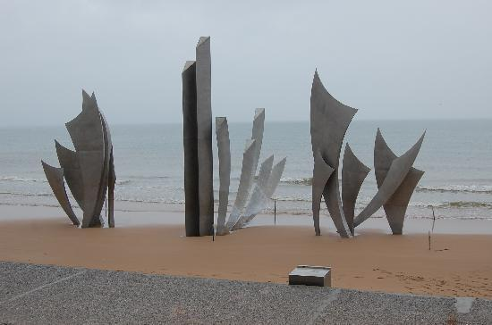 Colleville-sur-Mer, France: Omaha Beach Memorial