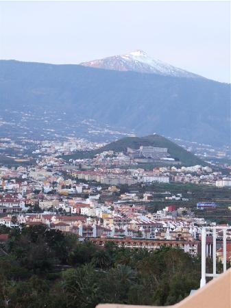 Miramar Hotel Tenerife Island: mount teide from balcony