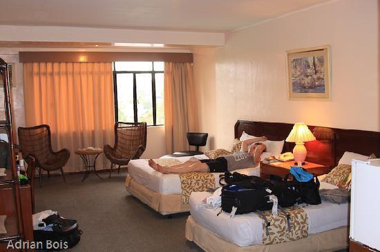 Cebu Grand Hotel: Room on the 7th floor