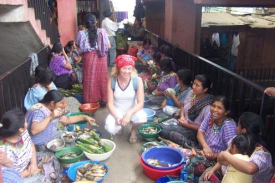 Quetzaltenango, Guatemala: market quetcen something, puff