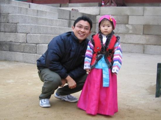 Changdeokgung Palass: Cute little Girl