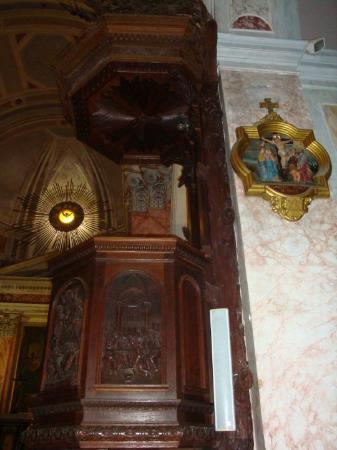 Saint Peter Church : Inside St Peter's church in Jaffa.