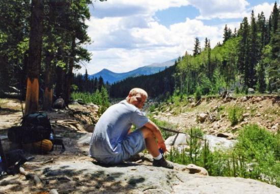 Rocky Mountain National Park, CO: Darrol in Rocky Mnt. Nat. Park