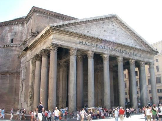 pantheon esterno picture of pantheon rome tripadvisor
