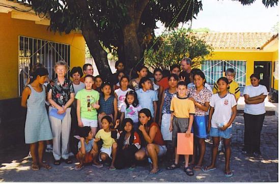 Santa Cruz, Bolivia: GIRLS AT THE ORPHANAGE