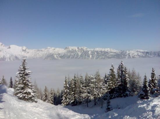 Schladming, Austria: Peřina v údolí :-)