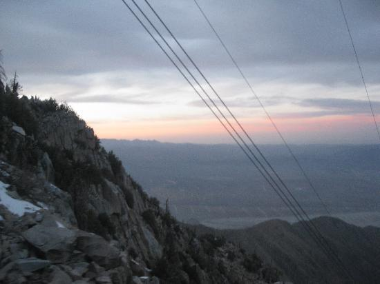 Sunset from the Palm Springs Aerial Tramway