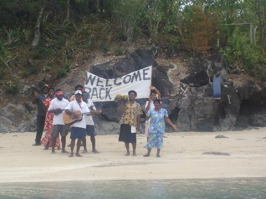 Navutu Stars Fiji Hotel & Resort : Friendly staff