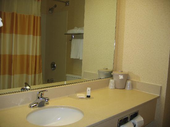 Fairfield Inn & Suites Spokane Downtown : Fairfield Inn - Bathroom