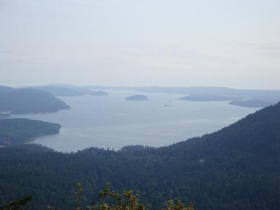 Landmark Orcas Island: View from Mt Constitution