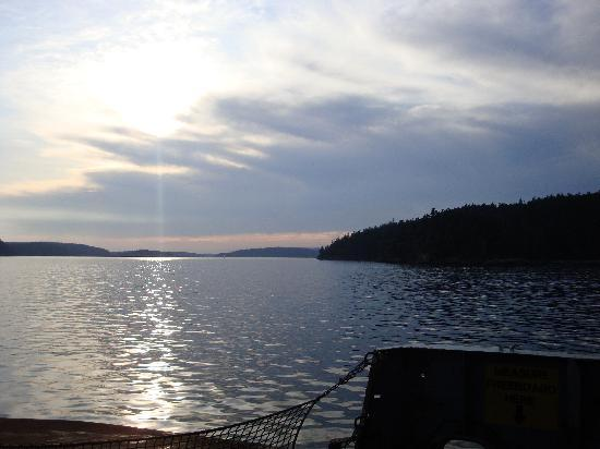 Landmark Orcas Island: An evening ferry trip