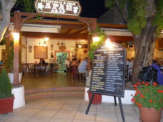 Restaurant Arap : Arap