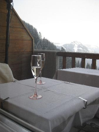 Hotel Edelweiss: balcony view