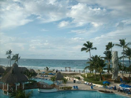 Occidental Caribe: View from our Balcony..room 2408