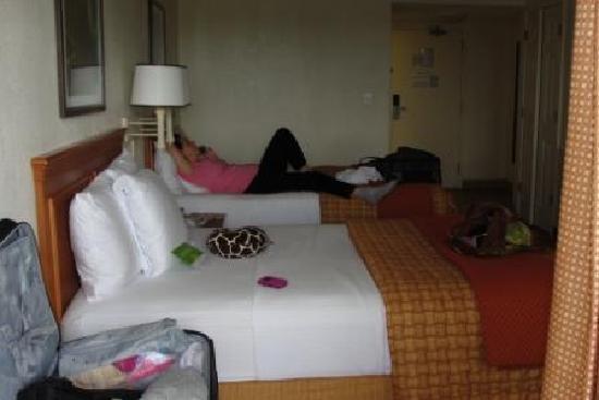 La Quinta Inn & Suites Coral Springs University Dr : beds