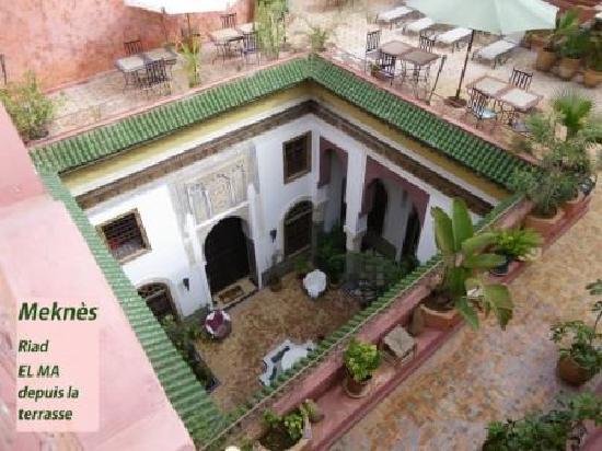Riad El Ma: patio