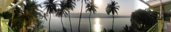 Saagar Sangam: panaromic view from the room