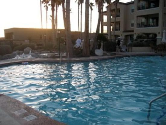 Tubac, AZ: The pool at Canoa Resort