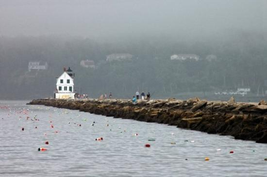 Ρόκλαντ, Μέιν: The Breakwater - Rockland, ME, United States