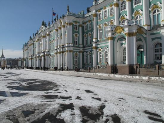 Palace Square (Dvortsovaya Ploshchad): Good times!