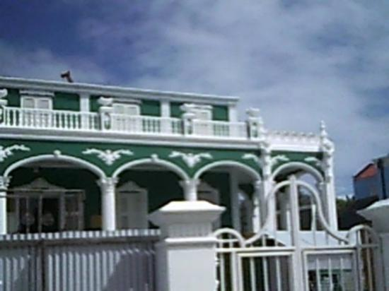 Curaçao: This house was a gift from a father to his son on his wedding day.  It was built to look like a